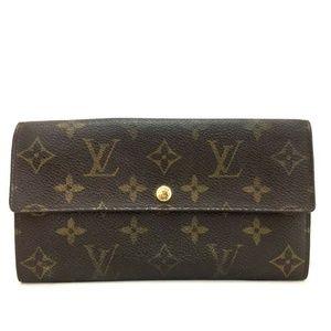 Auth Louis Vuitton Sarah Portefeiulle #1823G70